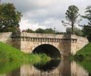 Карпин мост Гатчинского парка