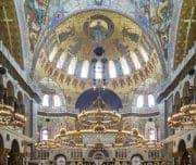 Морской Никольский собор, вид внутри
