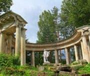 Павловск, колоннада Аполлона