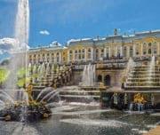 Петергоф, фонтаны и дворцы