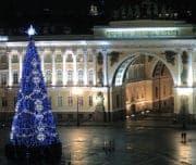 Ёлка на Дворцовой площади, Санкт-Петербург