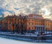 Инженерный замок зимой