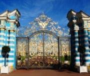 Золотые ворота Екатерининского дворца, Царское Село