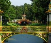 Китайские мосты в Александровском парке Царского Села
