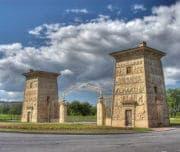 Царское Село, Египетские ворота