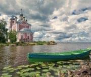 Плещеево озеро в Переславль-Залесском