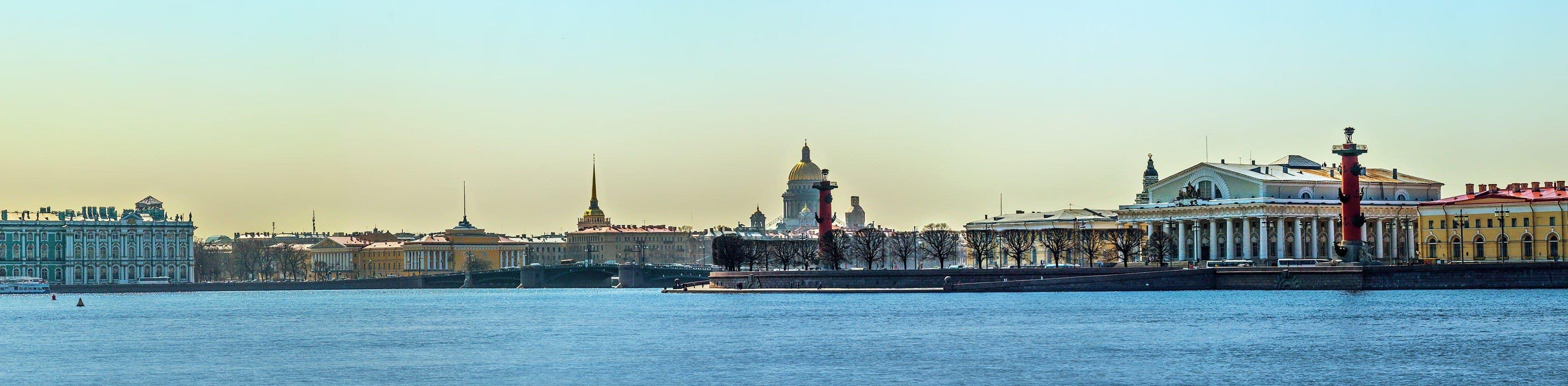 Кому на юг, а нам в Петербург! (4 дня)