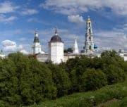 Панорама Сергиева Посада