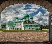 Олонец Свято-Троицкий Александра Свирского мужской монастырь, Карелия