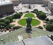 Петербург, Вид с колоннады Исаакиевского собора