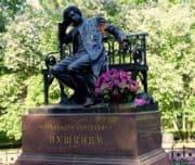 Памятник А.С.Пушкину в лицейском саду, Царское село