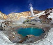 кратер Мутновского вулкана